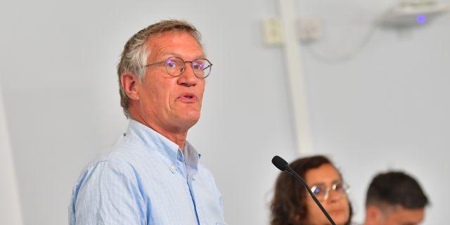 Anders Tegnell vid tisdagens pressträff. Jonas Ekströmer/TT / TT NYHETSBYRÅN