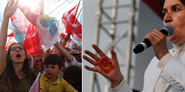 Dussintals skadade i turkiska van