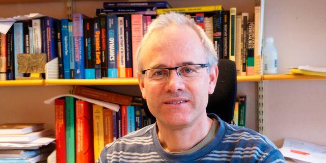 Björn Lund på institutionen för geovetenskaper i Uppsala. Privat / Privat