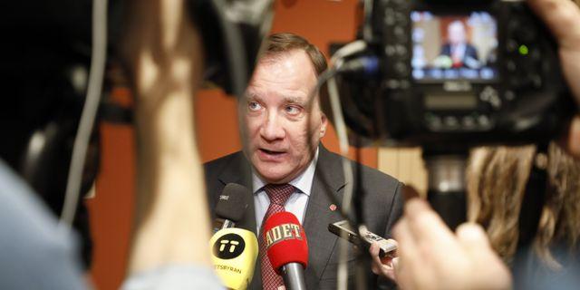 Stefan Löfven. Christine Olsson/TT / TT NYHETSBYRÅN