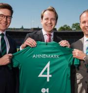 Karl Eckberg (operativ chef), Christoffer Ahnemark (fondförvaltare), Stefan Roos (vd)