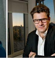 Soran Ismail och Jan Helin. TT