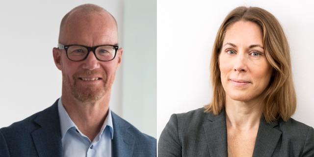 Johan Engström och Jenny Stenberg. Pressbilder