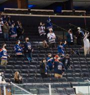 Publiken i Madison Square Garden POOL PHOTOS / BILDBYRÅN