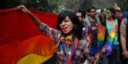 Rättighetsmarsch i New Delhi, 2015. Tsering Topgyal / TT / NTB Scanpix