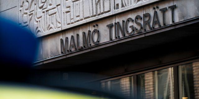 Arkivbild: Malmö tingsrätt. Johan Nilsson/TT / TT NYHETSBYRÅN