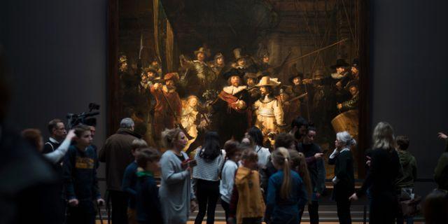 Nattvakten är en av världens mest kända tavlor  Peter Dejong / TT NYHETSBYRÅN/ NTB Scanpix