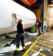 Illustrationsbild: Hylte bruks pappersbruk. Lars Pehrson / SvD / TT / TT NYHETSBYRÅN