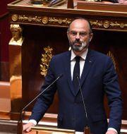 Frankrikes premiärminister Édouard Philippe  TT NYHETSBYRÅN