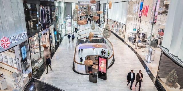 Illustrationsbild: Mall of Scandinavia i Stockholm. Veronica Johansson/SvD/TT / TT NYHETSBYRÅN