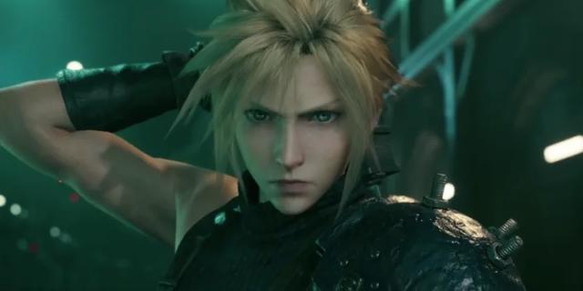 """Huvudkaraktären Cloud från """"Final Fantasy VII"""". PRESS"""