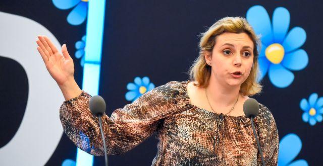 SD:s Paula Bieler. Hanna FranzénTT / TT NYHETSBYRÅN