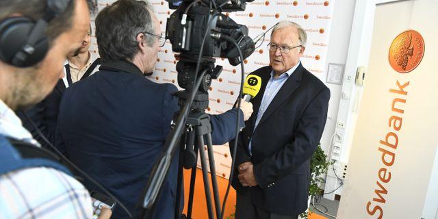 Göran Persson, Swedbanks ordförande.  Claudio Bresciani/TT / TT NYHETSBYRÅN