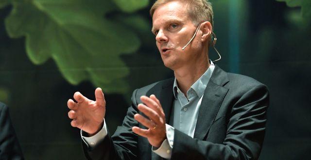Arkivbild: Swedbanks vd Jens Henriksson. Pontus Lundahl/TT / TT NYHETSBYRÅN