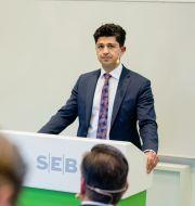 Arkivbild: SEB:s finanschef Masih Yazdi.  Adam Wrafterl/SvD/TT / TT NYHETSBYRÅN