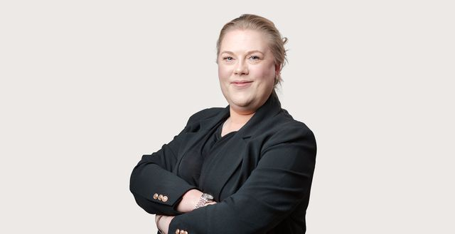 Jennie Sandén, familjeekonom på Danske Bank.  Alexander Donka