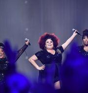The Mamas vann årets upplaga av Melodifestivalen. Jonas Ekströmer/TT / TT NYHETSBYRÅN
