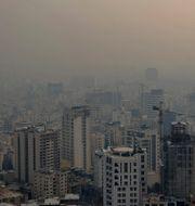 Teheran i Iran.  Ebrahim Noroozi / TT NYHETSBYRÅN
