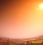 TT har publicerat bilder från meteoren som är tagna av den norska stiftelsen Norsk Meteornettverk. Norsk Meteornettverk/TT