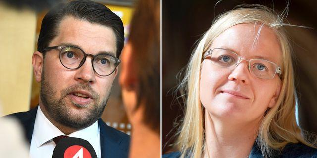 Jimmie Åkesson / Julia Kronlid.  TT