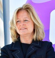Allison Kirkby, vd för Telia. Jonas Ekströmer/TT / TT NYHETSBYRÅN