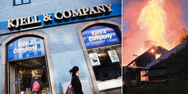 Arkivbilder: Kjell & Company, villabrand. TT