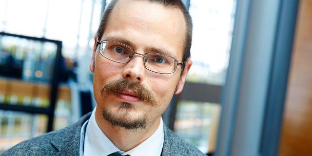 Max Andersson. FREDRIK PERSSON / TT / TT NYHETSBYRÅN