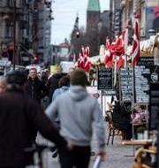 Uteserveringar i Köpenhamn. Johan Nilsson/TT / TT NYHETSBYRÅN