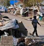 Förstörelsen efter Ida i LaPlace, Louisiana.  Gerald Herbert / TT NYHETSBYRÅN