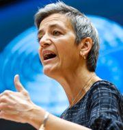 EU:s konkurrenskommissionär Margrethe Vestager. Shutterstock / TT