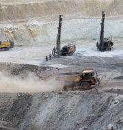 Koppargruva i Eritrea. Arkivbild. Thomas Mukoya / TT NYHETSBYRÅN