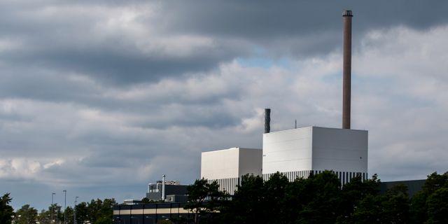 Kärnkraftverken O1:an och O2:an på Simpevarpshalvön utanför Oskarshamn. Adam Ihse/TT / TT NYHETSBYRÅN