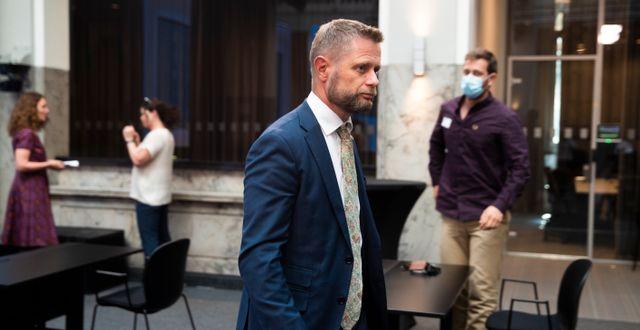 Hälsominister Bent Høie på onsdagen Berit Roald / TT NYHETSBYRÅN