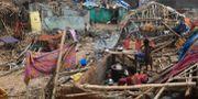 Förstörda hus i Odisha efter cyklonen Fani. DIBYANGSHU SARKAR / AFP