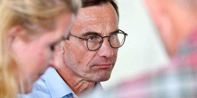 Ulf Kristersson (M).  Johan Nilsson/TT / TT NYHETSBYRÅN