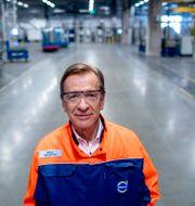 Arkivbild: Volvo Cars vd Håkan Samuelsson.  ADAM IHSE / TT / TT NYHETSBYRÅN