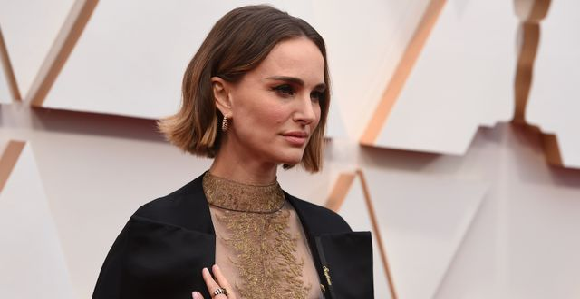 Natalie Portman på Oscarsgalan. Jordan Strauss / TT NYHETSBYRÅN