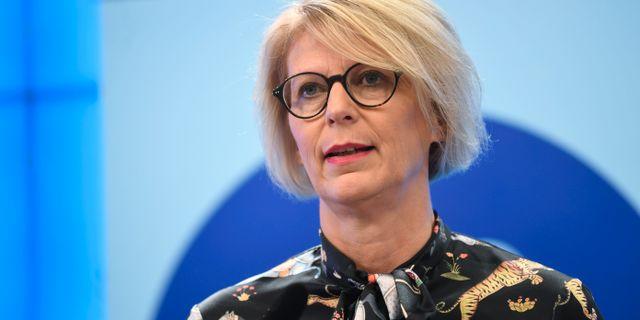 Elisabeth Svantesson (M). Fredrik Sandberg/TT / TT NYHETSBYRÅN