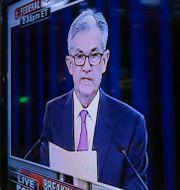 Arkivbild: Fed-chefen Jerome Powell.  Richard Drew / TT NYHETSBYRÅN