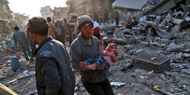 Minst 25 dodades pa marknad i syrien