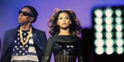 Jay-Z och Beyoncé.  Mason Poole / TT NYHETSBYRÅN/ NTB Scanpix