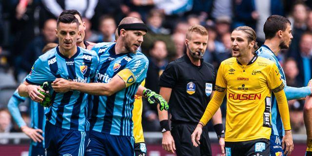 Haris Radetinac under matchen.  KENTA JÖNSSON / BILDBYRÅN