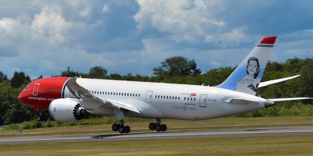 Arkivbild. Norwegian Air Shuttle / TT NYHETSBYRÅN