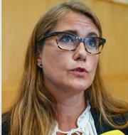 Rebecka Le Moine, Janine Alm Ericson och Karolina Skog TT