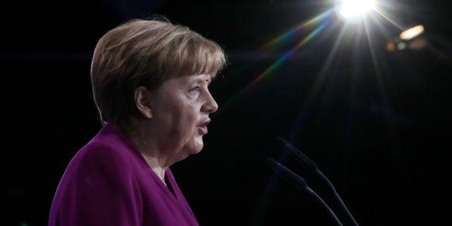 Angela Merkel.  Markus Schreiber / TT / NTB Scanpix
