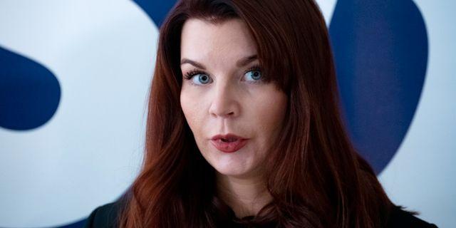 Louise Erixon. Arkivbild. Johan Nilsson/TT / TT NYHETSBYRÅN