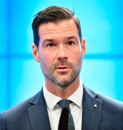 Johan Forssell. Jessica Gow/TT / TT NYHETSBYRÅN