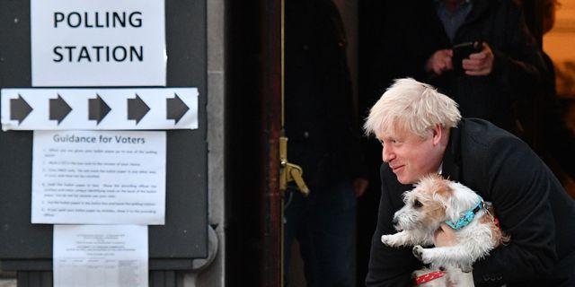 Boris Johnson.  DANIEL LEAL-OLIVAS / AFP