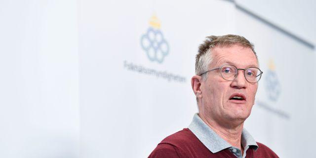 Statsepidemiolog Anders Tegnell. Henrik Montgomery/TT / TT NYHETSBYRÅN