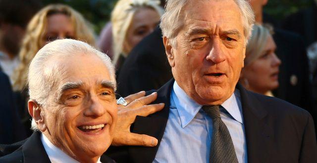 Martin Scorsese och Robert De Niro. Joel C Ryan / TT NYHETSBYRÅN